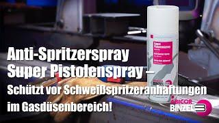 Anti-Spritzerspray Super Pistolenspray – Schützt vor Schweißspritzeranhaftungen im Gasdüsenbereich!