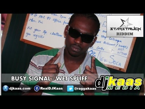 Busy Signal - Wet Spliff [Raw] (February 2014) Starstruck Riddim - Star$truck Rec | Dancehall