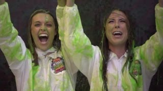 Dana & Joslyn Get Slimed! Nickelodeon Kids Choice Awards 2014