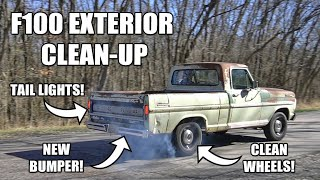 F100 Exterior Clean-up