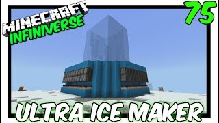 How To Build A 4-Way Ultra Ice Farm [75] Minecraft Bedrock Infiniverse