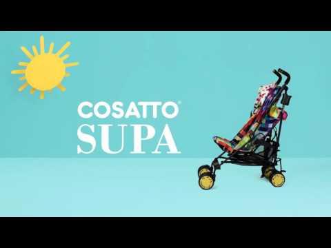Обзор колясок Cosatto SUPA в расцветках 2016