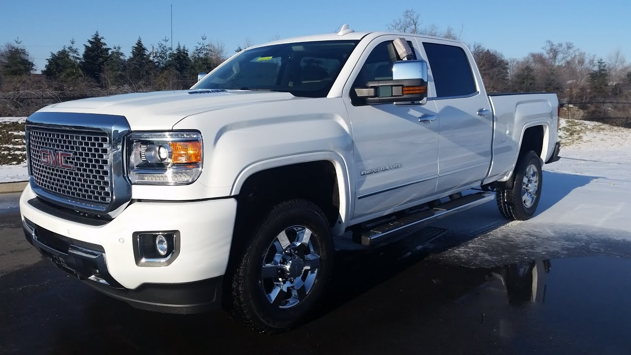 Gmc 3500 Denali Diesel For Sale >> Sold 2015 5 Gmc 3500 Hd Denali Crew Cab Duramax Plus Moonroof 4x4