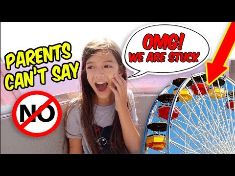 PaReNTS CaN'T SaY NO! KiDS IN CHaRGe - 9 YEARS OLD CONTROLS OUR DAY in LA!
