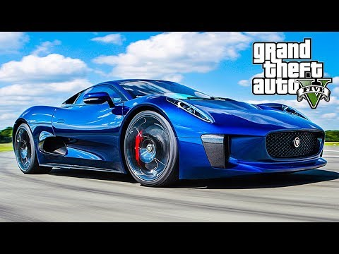 GTA 5 Custom Car Build & Drive - Ocelot XA-21 / Jaguar CX-75