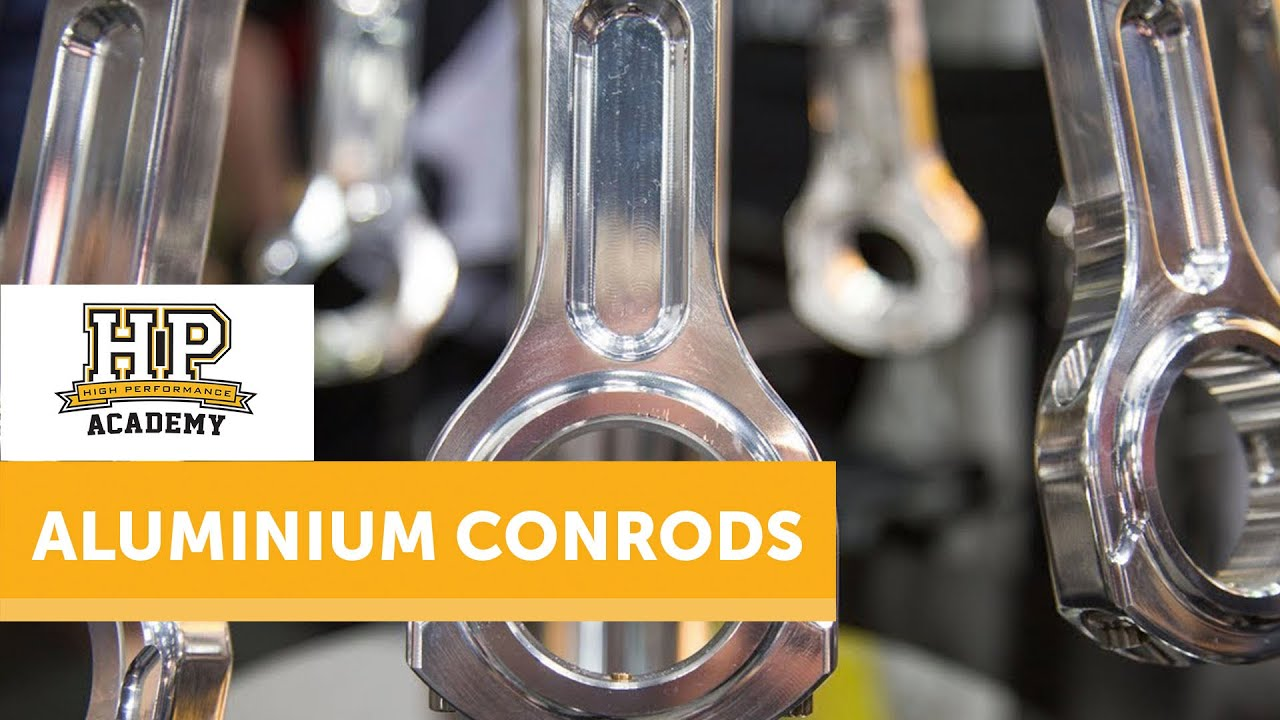 Aluminium Conrod Pros and Cons | GRP Connecting Rods [TECH TALK]