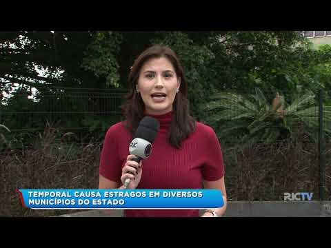 Temporal: São Bento e Mafra foram os municípios mais atingidos na região