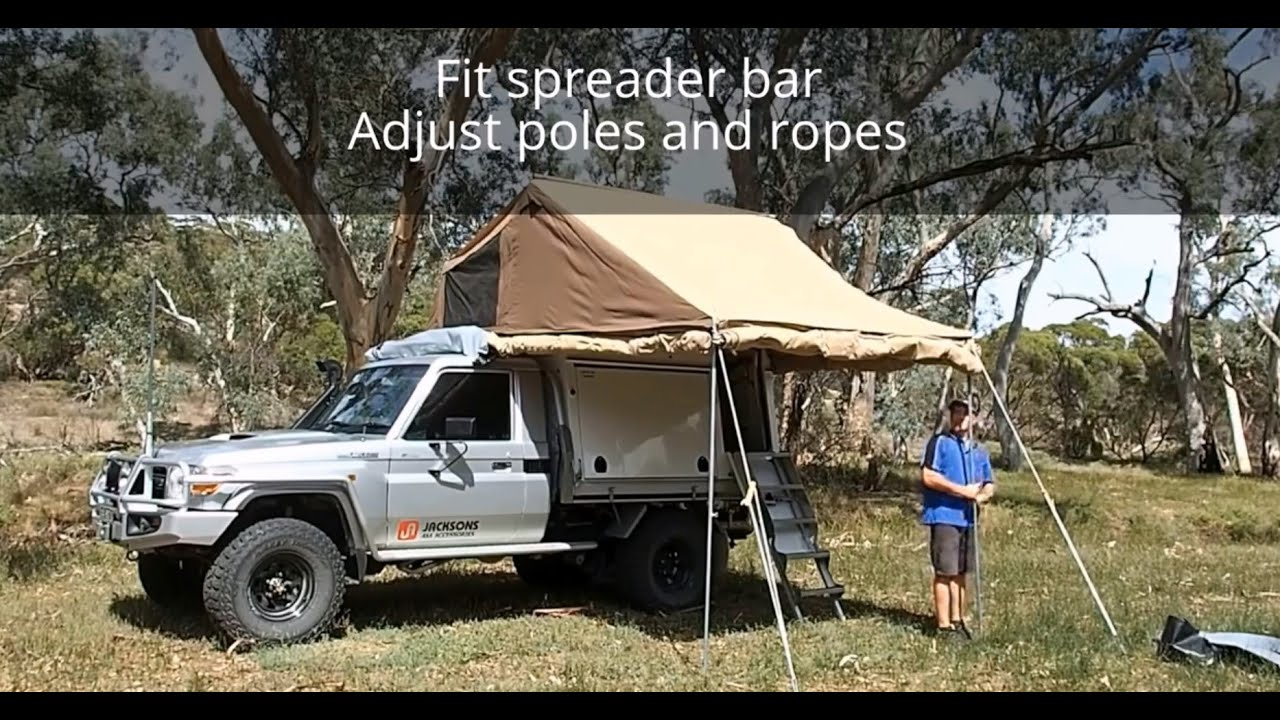 YouTube Premium & Carry Me Camper - Walk-in Camper Set-up - YouTube
