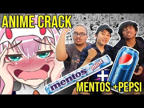 KETAWA = MAKAN MENTOS + PEPSI - TRY NOT TO LAUGH Anime crack #9 w/ Samurai reject, FKmovers
