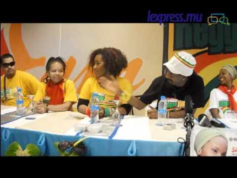 Reggae Donn Sa : Conférence de presse à l'hôtel La Plantation
