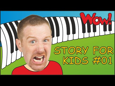 Story for Kids from Steve and Maggie #01 | English for Children | Kids TV