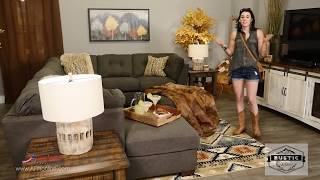 3 Looks Using 1 Sectional