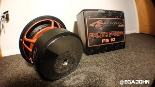 Crescendo Audio Forte Series Subwoofer Overview