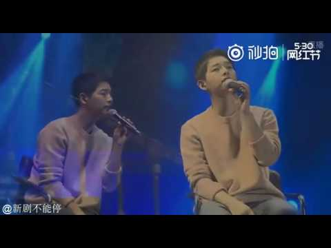 [VIDEO] 160521 Song Joong Ki - singing 'Really' OST from Innocent Man