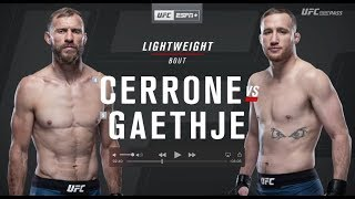 UFC Fight Night: Donald Cerrone vs. Justin Gaethje Recap