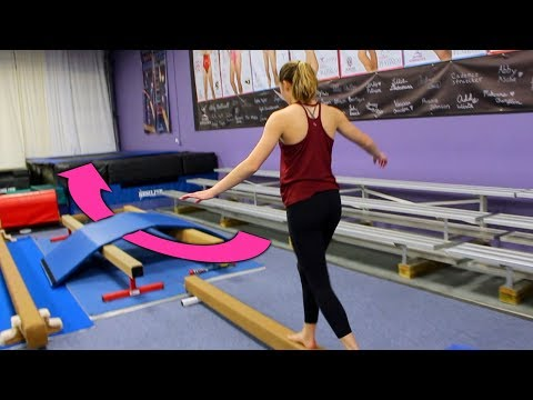 INSANE Gymnastics Obstacle Course!