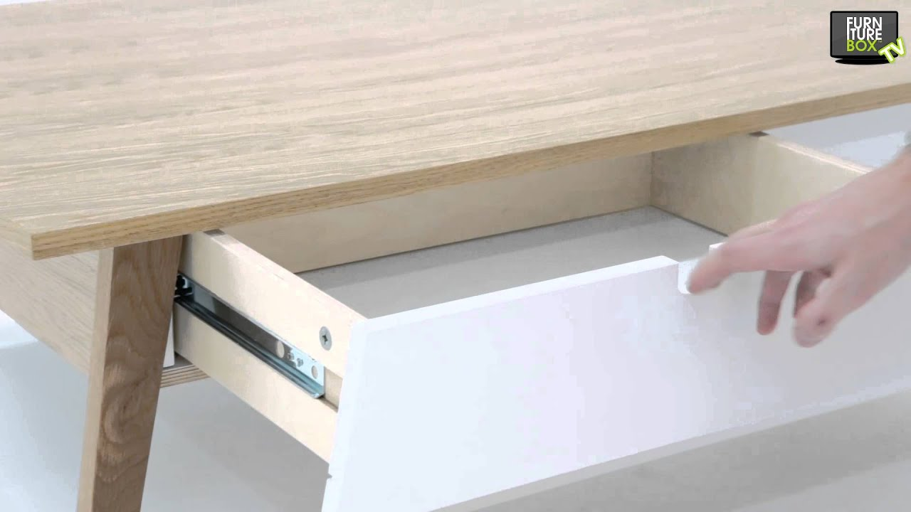KIVIK Soffbord 130 Vit Ek Furniturebox YouTube