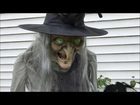 Lunging Haggard Witch (Seasonal Visions) | Animated Halloween Decoration