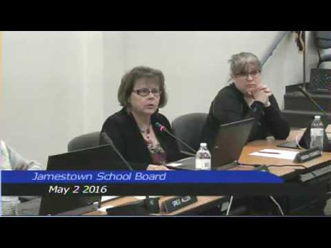 Jamestown Public School Board