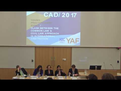 Young Practitioners' Event Organised with ICC YAF 2017