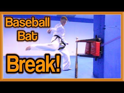 Baseball Bat Break with Shin Kick | GNT