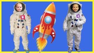 Космос для детей - Изучение ВСЕЛЕННОЙ - Развивающий мультик