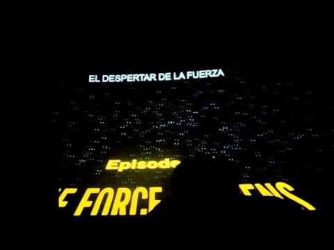 Star Wars The Force Awakens  Intro Reaction  IMAX Chile 17 de Diciembre SPOILERS