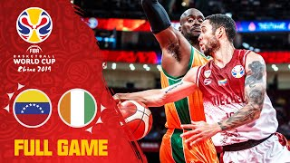 Venezuela & Cote d'Ivoire thrill the crowd! - Full Game - FIBA Basketball World Cup 2019