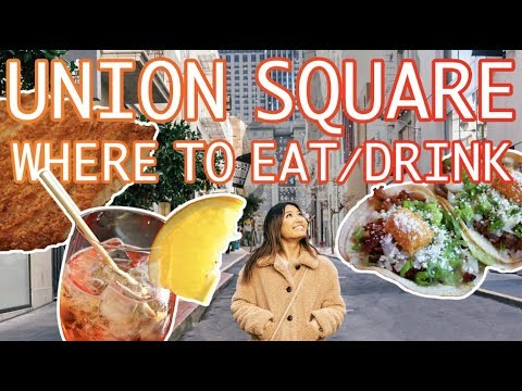 TOP 10 UNION SQUARE SF: Local's Guide To The Best Eats And Drinks