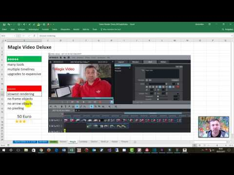 Video Editors Software 2017 compared. Free and Budget Versions, Windows 10