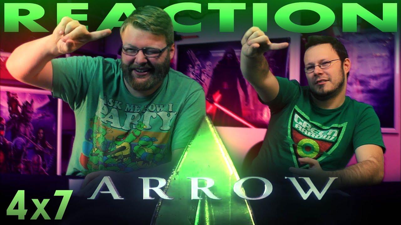"Download Arrow 4x7 REACTION!! ""Brotherhood"""