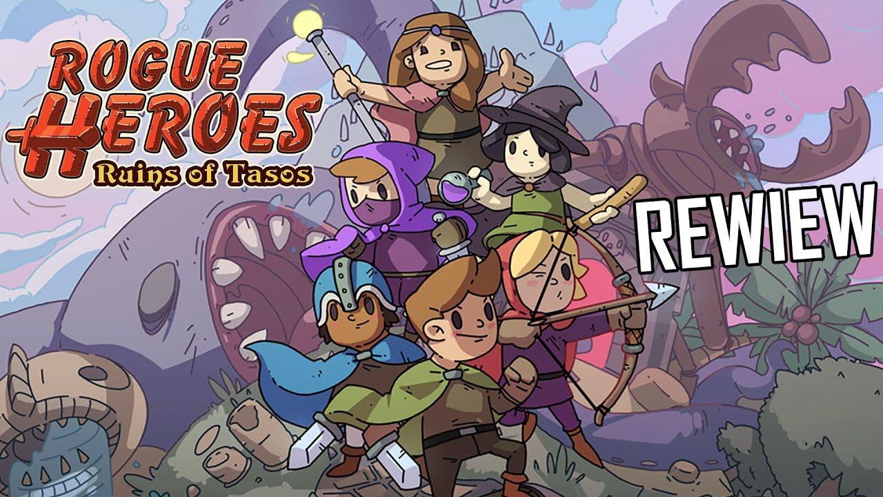 [REVIEW] 1 Tựa Game Phiêu Lưu 2D pixel Cực Hay | Rogue Heroes Ruins of Tasos