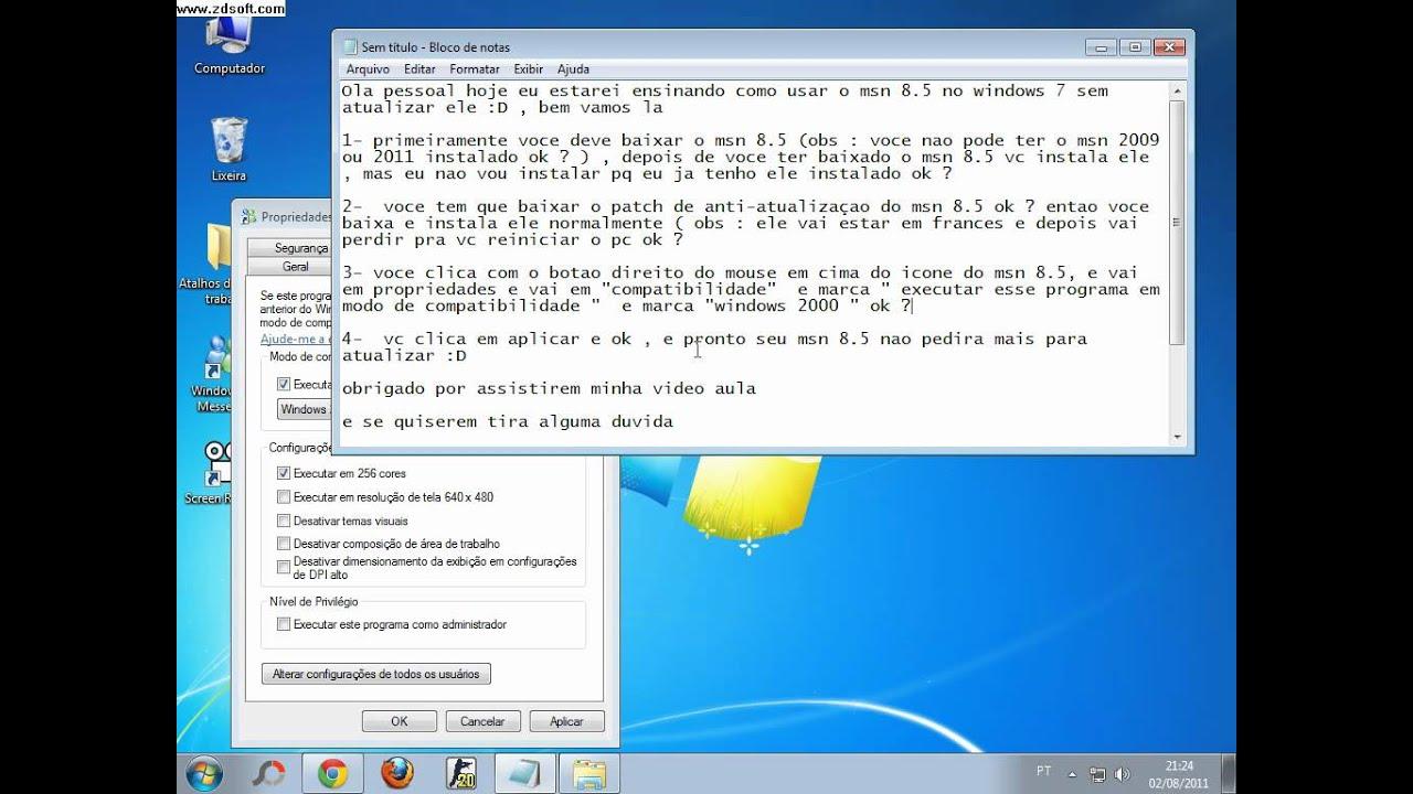 SCARICARE MSN2009