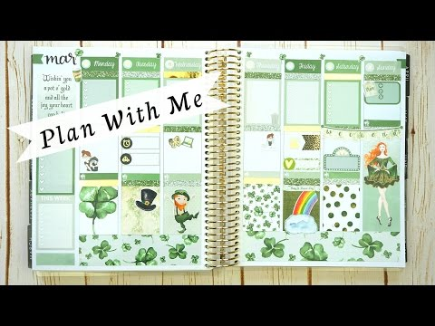 Plan With Me: St Patricks Day | Collab with TheCraftyBanana