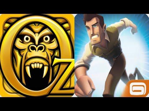 Danger Dash VS Temple Run Oz Magicican   Android IPad IOS Gameplay