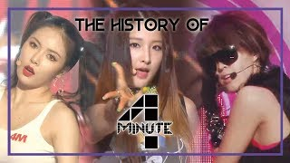 4minute Special ★Since 'Hot issue' to 'HATE'★ (1h 24m Stage Compilation)