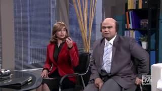 عمرو أديب ولميس الحديدي - SNL بالعربي