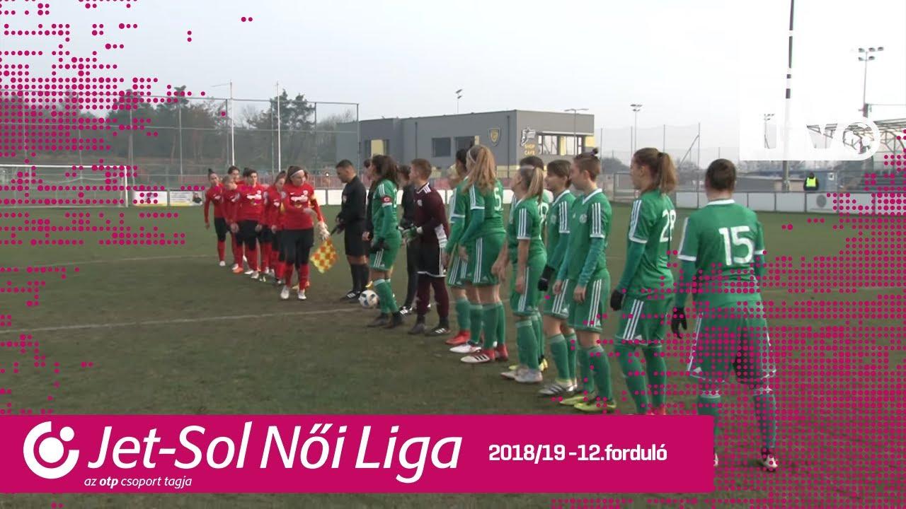 Haladás Viktória - DVTK | 0-0 | JET-SOL Liga | 12. forduló | MLSZTV