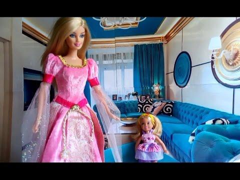 Куклы Барби и Эльза Новые наряды из Плей До Barbie Elsa Play Doh Мультик из игрушек - Серия 109