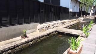 美しき日本の風景~飛騨古川・瀬戸川の白壁土蔵街