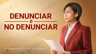 Testimonio cristiano en español 2020 | Denunciar o no denunciar