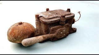 Restoration Antique Fire Bell | Restore RUSTY Old Fire Alarm