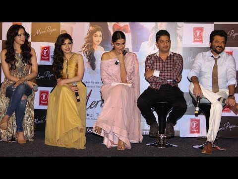 Anil Kapoor & Sonam Kapoor @ Mere Papa Song Launch
