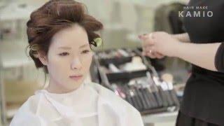 Hair make KAMIO ブライダル用ヘアメイクMOVIE