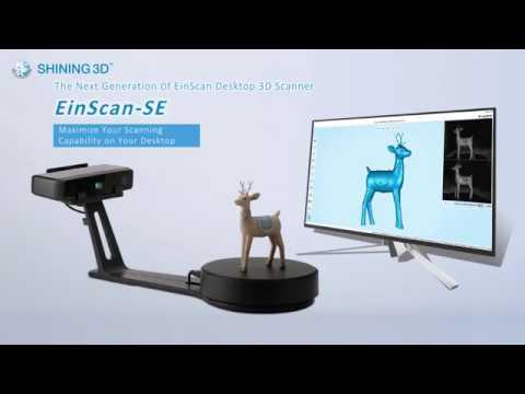 EinScan-SE 3D Scanner Tutorial - SHINING 3D - V-GER