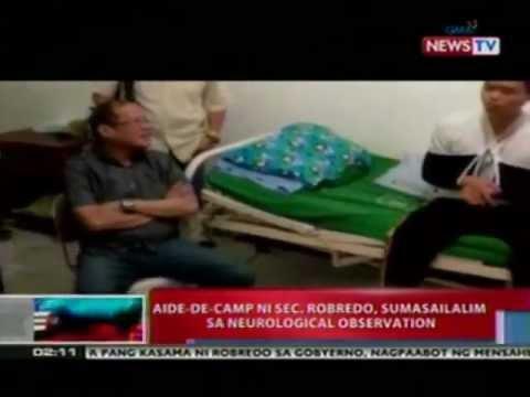 NTL: Aide-de-Camp ni Sec. Robredo, sumasailalim sa neurological observation