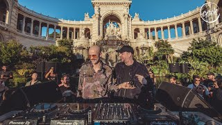Adana Twins at Palais Longchamp in Marseille, France for Cercle