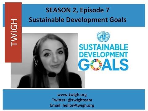 Global Goals / SDGs PART 2 - Sustainability, Financing, Global Public Goods