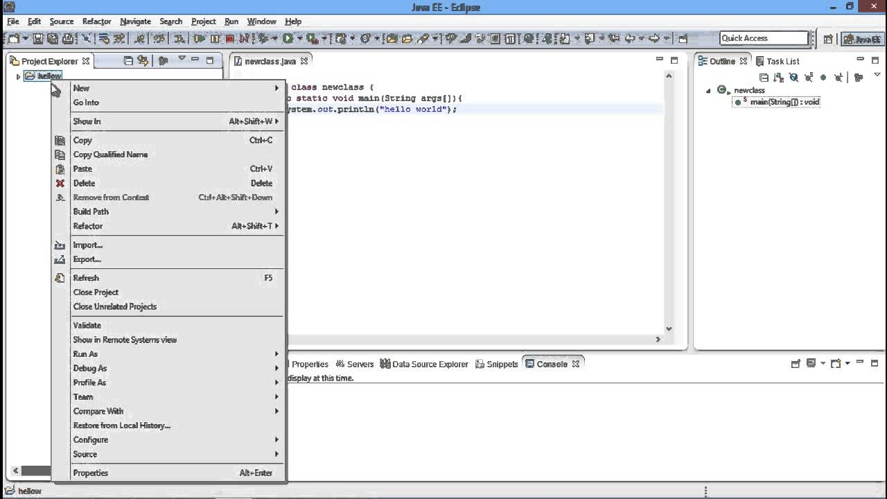 How to Create an Executable Jar File in Eclipse