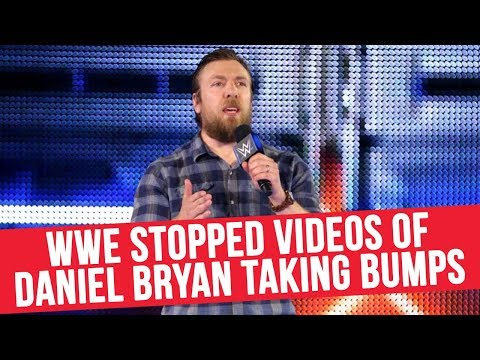 WWE Stopped Videos Of Daniel Bryan Taking Bumps